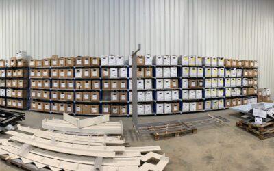 Une vaste gamme de poudre
