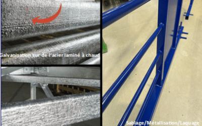 Pourquoi préférer la métallisation à la galvanisation?
